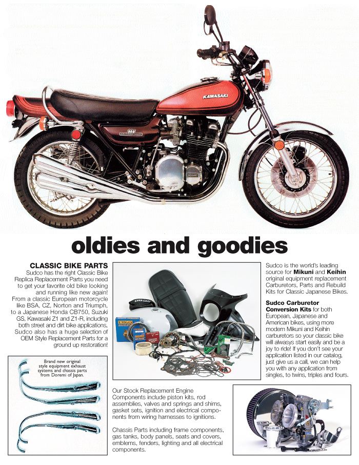 Sudvo Classic Motorcycle Parts