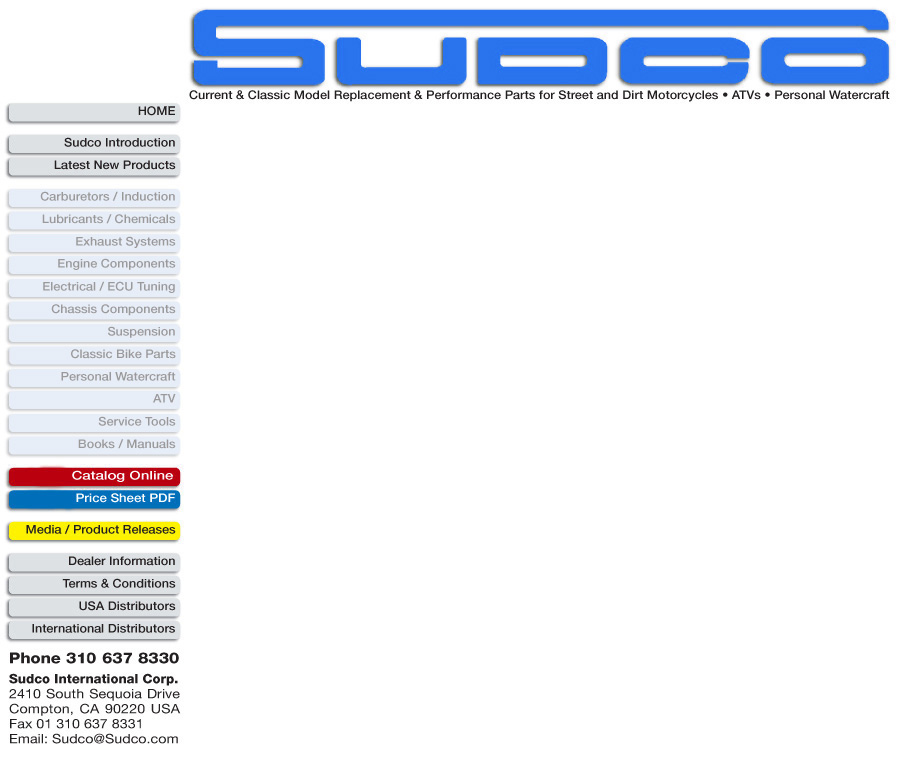 Sudco Page Header